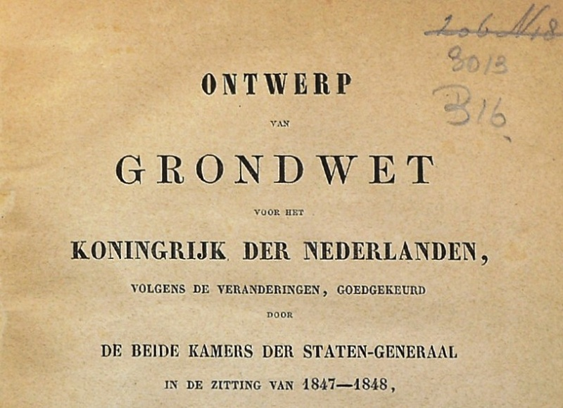 Grondwet1848